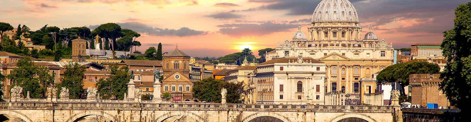 Roma - Albergues en el distrito Delle Valli . Mapas de Roma, Fotos y Comentarios para cada Albergue en Roma.