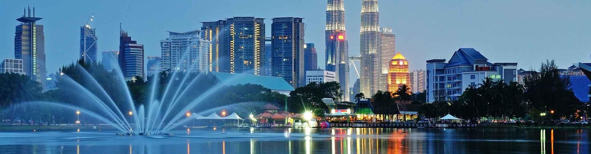 Kuala Lumpur - Albergues en Kuala Lumpur. Mapas de Kuala Lumpur, Fotos y Comentarios para cada Albergue en Kuala Lumpur.