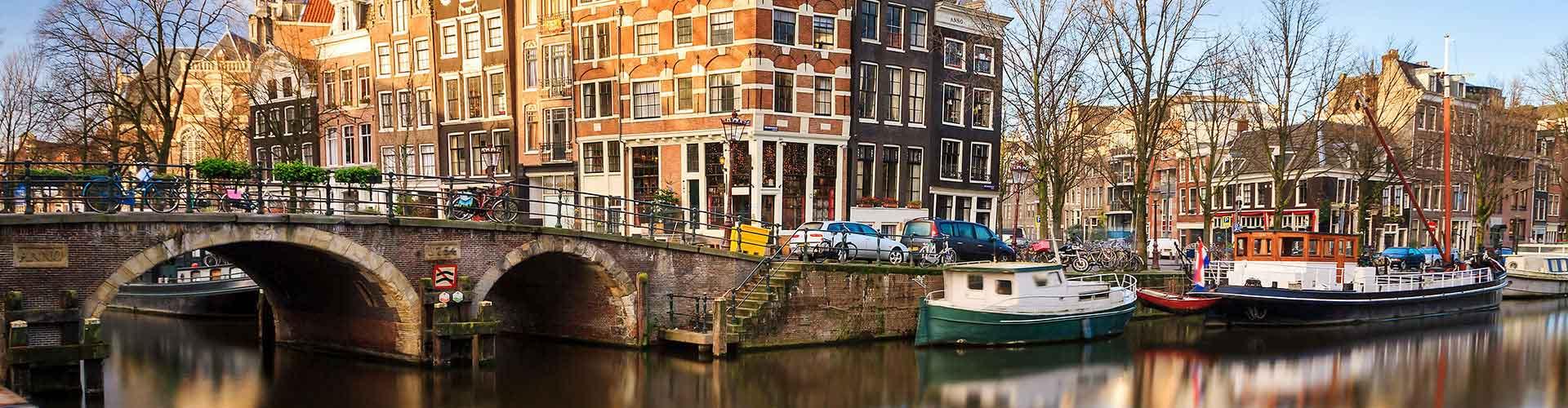 Amsterdam - Albergues cerca a Centro de la Ciudad. Mapas de Amsterdam, Fotos y Comentarios para cada Albergue en Amsterdam.