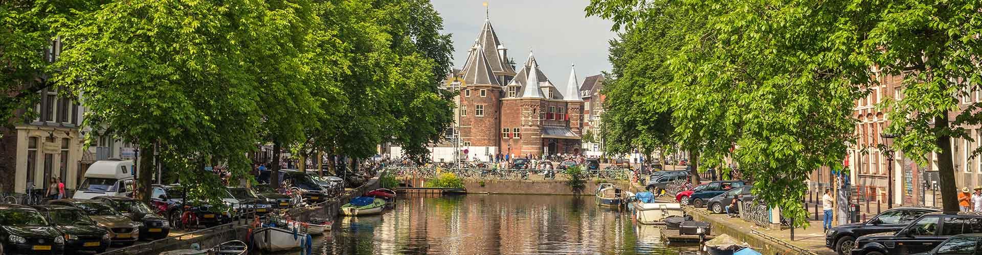 Amsterdam - Albergues cerca a Pesar Casa. Mapas de Amsterdam, Fotos y Comentarios para cada Albergue en Amsterdam.