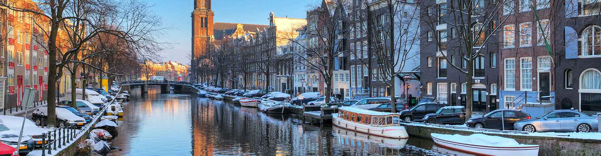 Amsterdam - Albergues cerca a Westerkerk. Mapas de Amsterdam, Fotos y Comentarios para cada Albergue en Amsterdam.