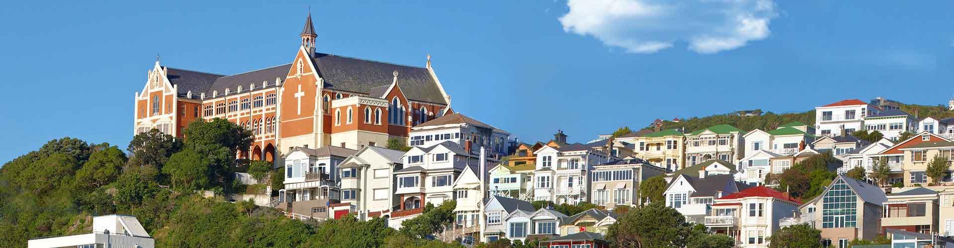 Wellington - Albergues en Wellington. Mapas de Wellington, Fotos y Comentarios para cada Albergue en Wellington.
