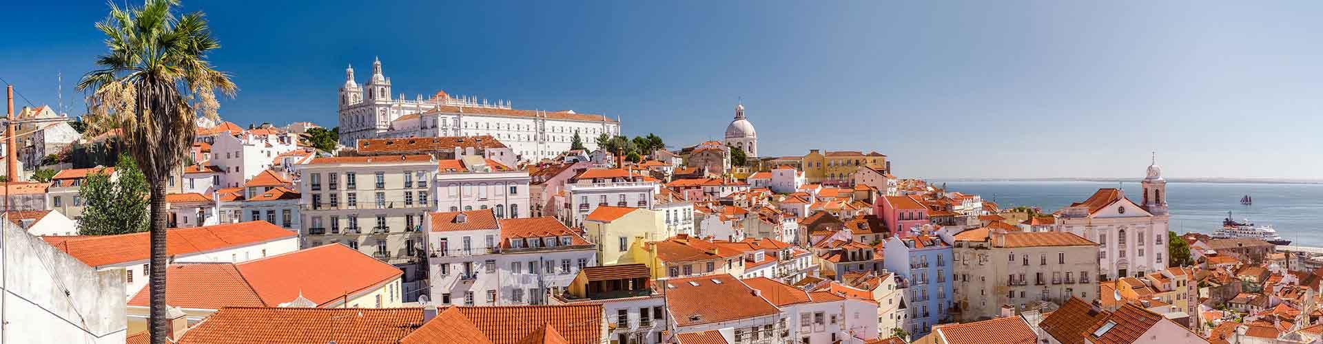 Lisboa - Albergues en el distrito Alfama . Mapas de Lisboa, Fotos y Comentarios para cada Albergue en Lisboa.