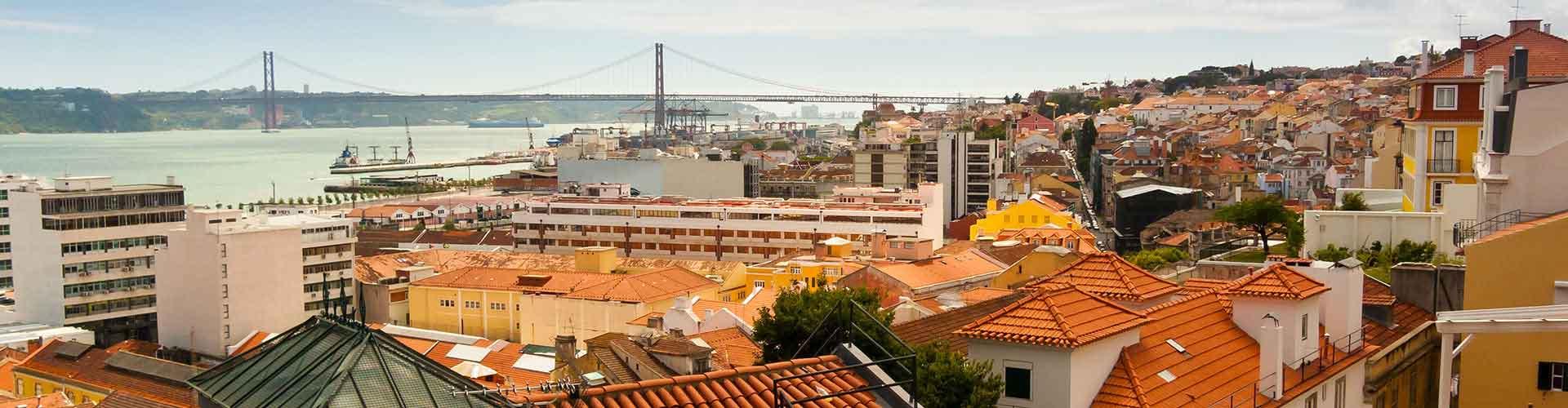 Lisboa - Albergues en el distrito Bairro Alto . Mapas de Lisboa, Fotos y Comentarios para cada Albergue en Lisboa.
