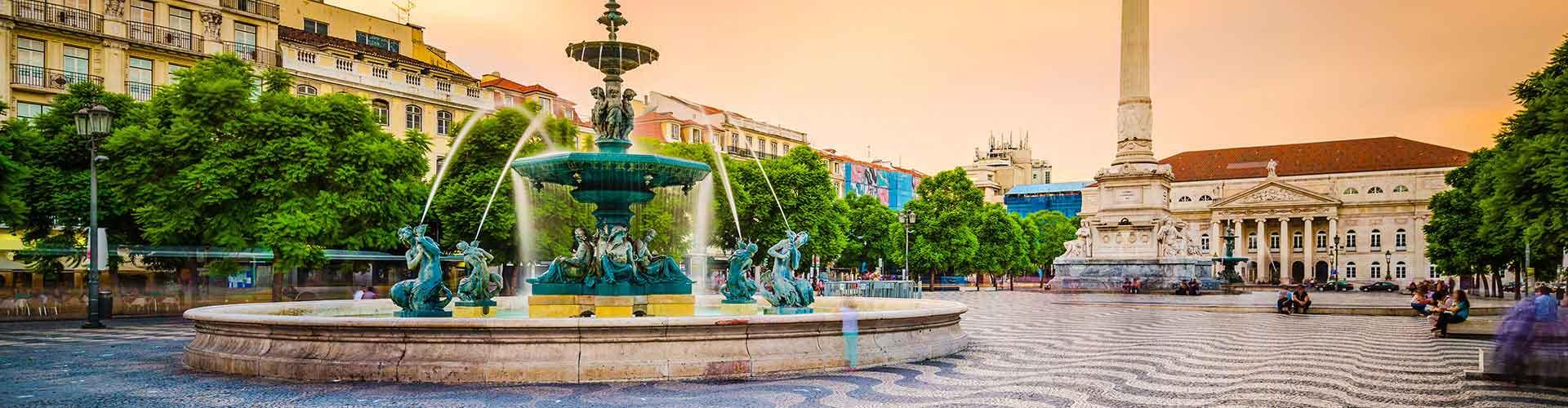 Lisboa - Albergues en el distrito Baixa . Mapas de Lisboa, Fotos y Comentarios para cada Albergue en Lisboa.