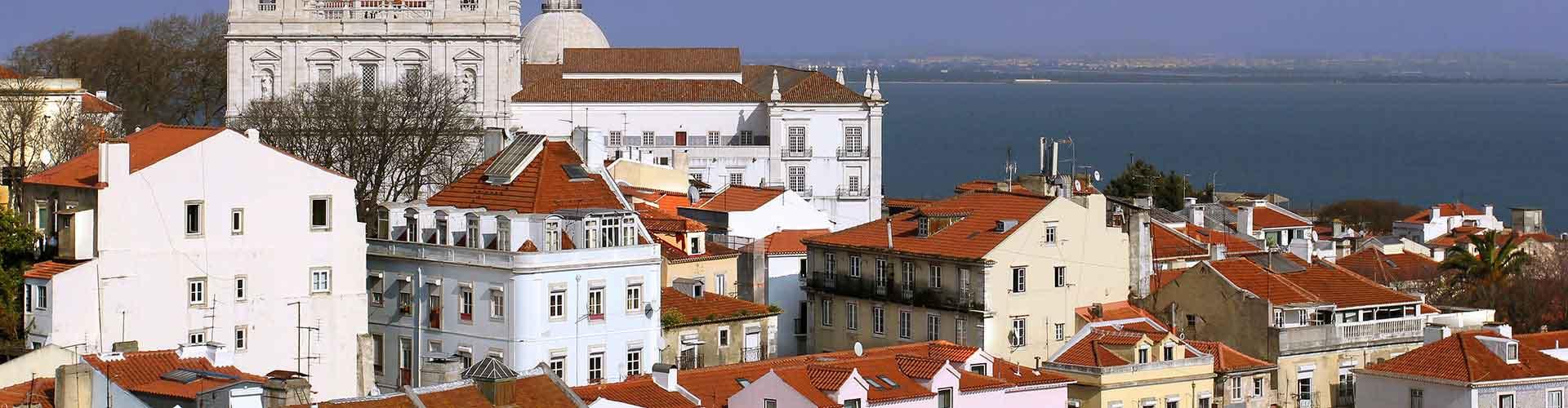 Lisboa - Albergues en el distrito Centro . Mapas de Lisboa, Fotos y Comentarios para cada Albergue en Lisboa.