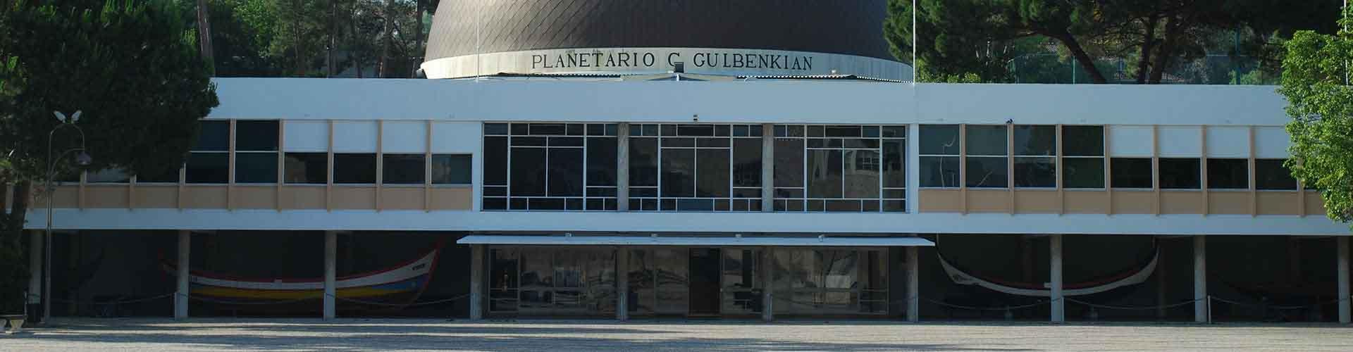 Lisboa - Albergues cerca a Museo Calouste Gulbenkian. Mapas de Lisboa, Fotos y Comentarios para cada Albergue en Lisboa.