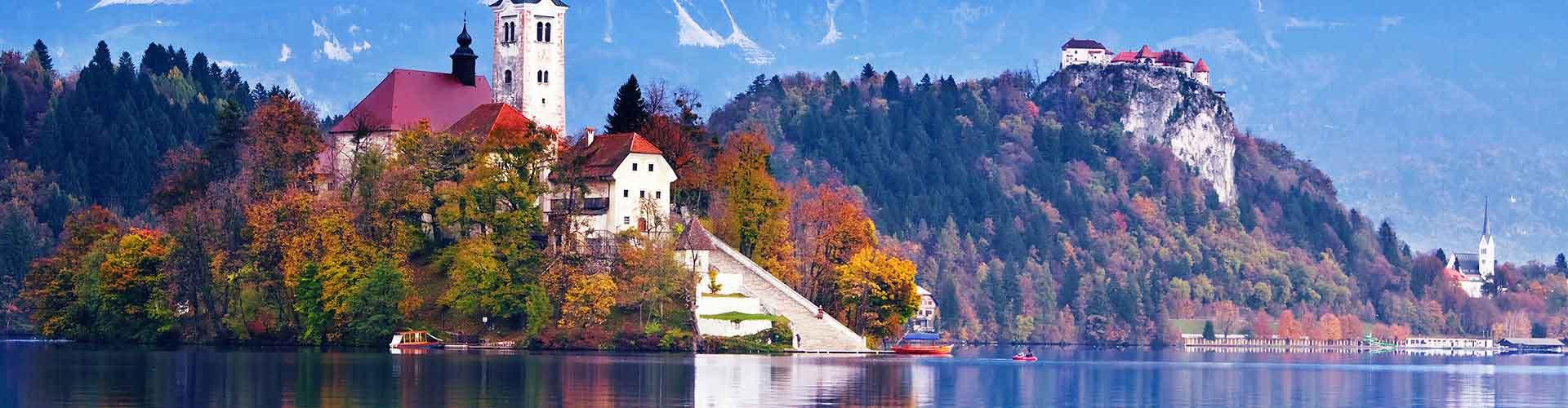 Bled - Albergues en Bled. Mapas de Bled, Fotos y Comentarios para cada Albergue en Bled.