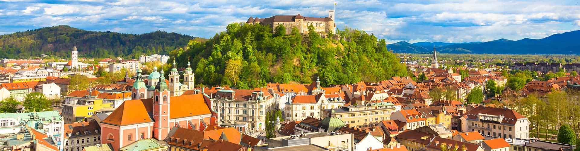 Ljubljana - Albergues en Ljubljana. Mapas de Ljubljana, Fotos y Comentarios para cada Albergue en Ljubljana.