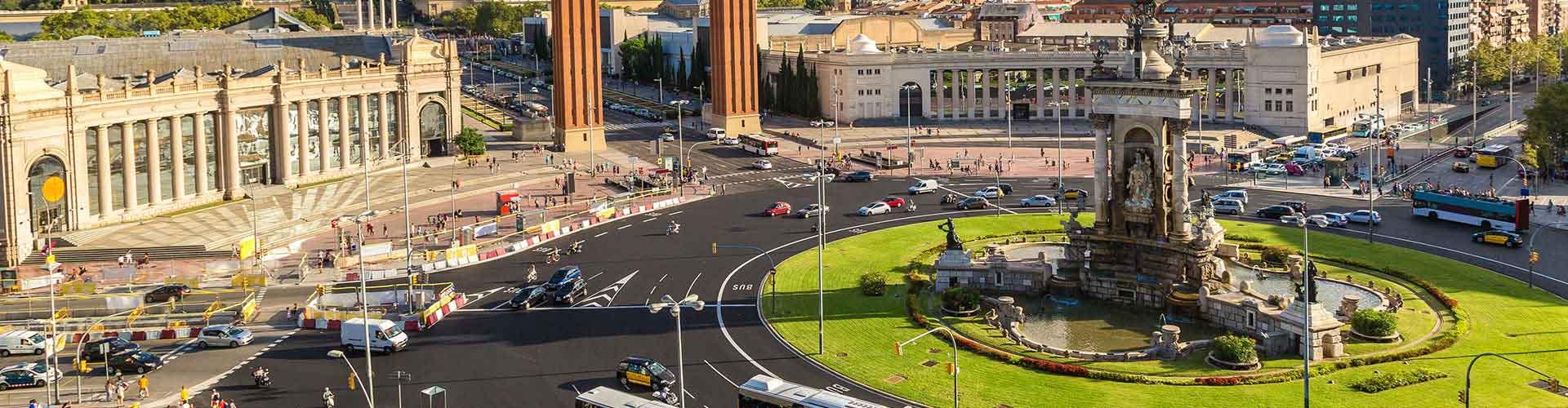Barcelona - Albergues cerca a Centro de la Ciudad. Mapas de Barcelona, Fotos y Comentarios para cada Albergue en Barcelona.