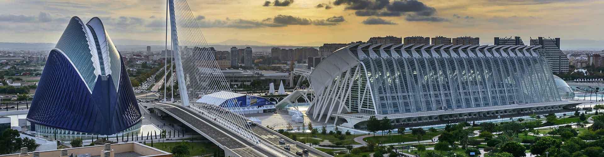 Valencia - Albergues en Valencia. Mapas de Valencia, Fotos y Comentarios para cada Albergue en Valencia.