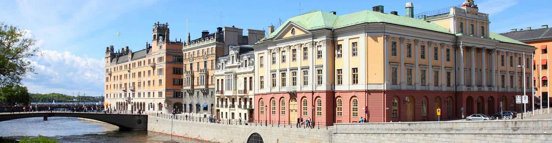 Estocolmo - Albergues en el distrito Norrmalm . Mapas de Estocolmo, Fotos y Comentarios para cada Albergue en Estocolmo.