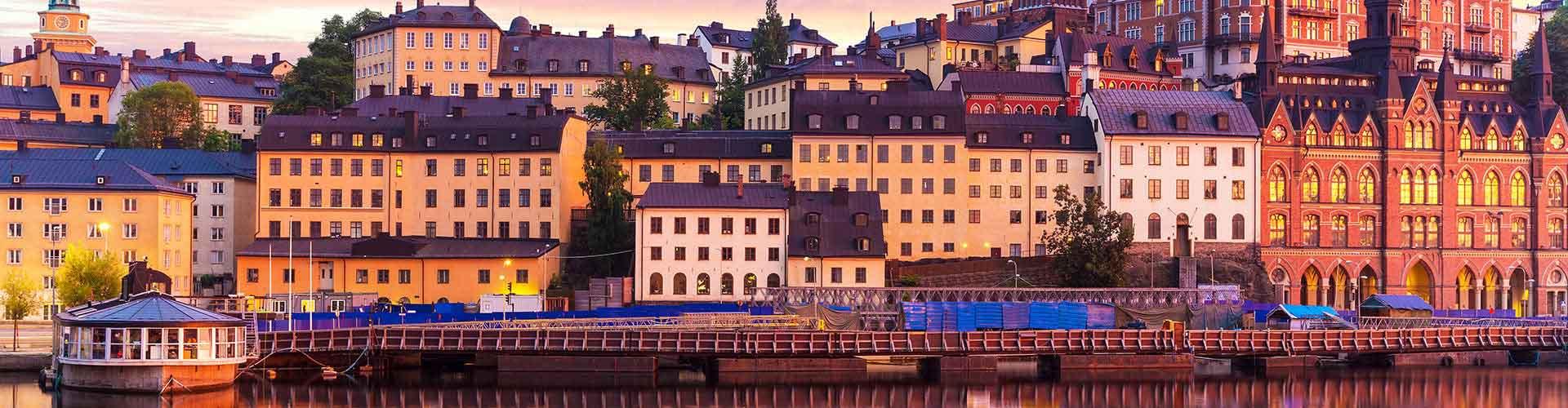 Estocolmo - Albergues en el distrito Södermalm . Mapas de Estocolmo, Fotos y Comentarios para cada Albergue en Estocolmo.