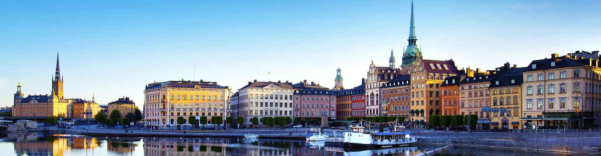 Estocolmo - Albergues en Estocolmo. Mapas de Estocolmo, Fotos y Comentarios para cada Albergue en Estocolmo.