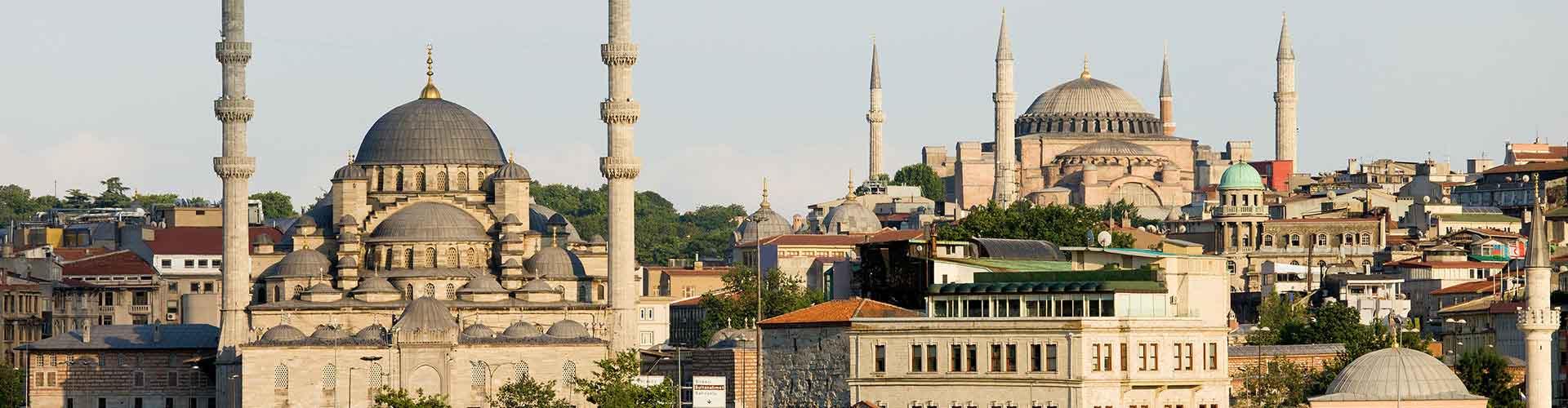 Estambul - Albergues en Estambul. Mapas de Estambul, Fotos y Comentarios para cada Albergue en Estambul.