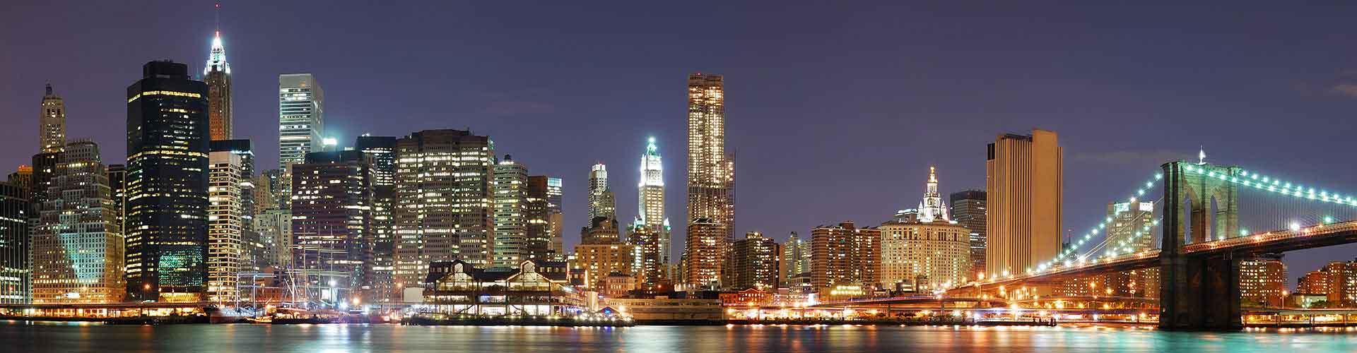 Nueva York - Albergues en Nueva York. Mapas de Nueva York, Fotos y Comentarios para cada Albergue en Nueva York.