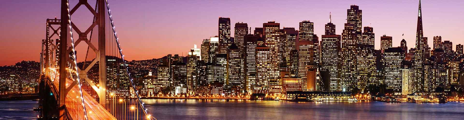 San Francisco - Albergues en San Francisco. Mapas de San Francisco, Fotos y Comentarios para cada Albergue en San Francisco.